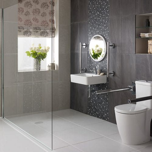 image of a wet room
