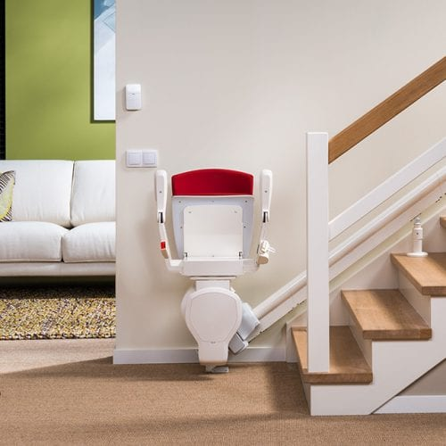 image of a reconditioned stairlift